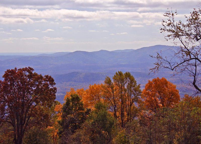 Fall view from Summerridge